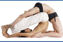 Acro partner yoga