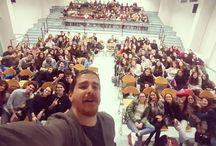 Instagram Che mattinata stupenda! :D  Grazie a tutti i ragazzi del liceo Carlo Alberto di Novara! <3