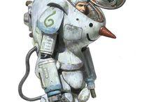 Robot-Mechas