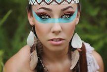 Halloween diy makeup