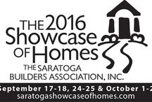 Showcase of Homes / The Southern Saratoga region's top builders participate in the annual Saratoga Showcase of Homes, slated for 3 weekends in Fall 2016.