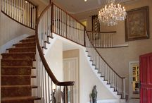 Stairs / The steps to travel your square footage...