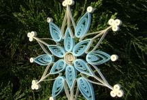 christmas quilling decorations