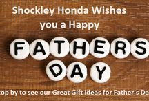Great Gift Ideas @ Shockley Honda for Father's Day