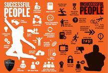 Productivity/Motivational Infographic