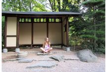 FASHION - In Japanese Garden / http://www.alliness.blogspot.com/