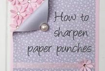 DIY Cards - Punches