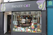 Our Shop! / Find Paisley Cat Ltd at:  41 Downing Street Farnham  Open Monday - Sunday  09:30 - 17:30
