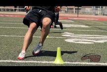 wide receiver drills
