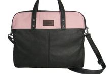 Freddy ~ Laptop Briefcase / Freddy is a contemporary Laptop combo Briefcase with clean simple lines.  Design this in your own leather choices on my website.  http://www.etsy.com/listing/76017077/leather-briefcase-commuter-business-bag
