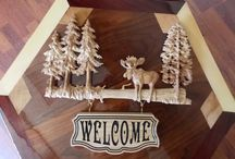 Welcome Signs Rustic Cabin Decor  ~ Solid Wood / BUNDLE YOUR PURCHASES AND SAVE with our SHOP COUPON CODES!  For 10% discount, buy 2 items and use code BUY2GET10 For 15% discount, buy 3 items and use code BUY3GET15 For 20% discount, buy 4 items and use code BUY4GET20 For 25% discount, buy 5 items and use code BUY5GET25    / by TheWoodGrainGallery
