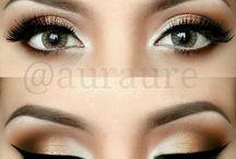 Uitgaan makeup