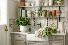 garden potting room