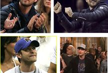 Famous Sports Fans / Celebrities who love their sports teams