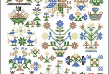 cross-stitch pattern /  cross-stitch pattern