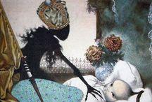 pohádkové ilustrace -Fairy-tale illustration