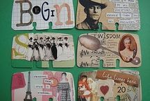 Art Mail, ATC & Altered / Re-cycled art of everyday.