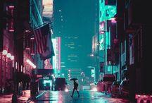 aesthetic || neon