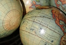 Globes and maps  / by Meagan Pitts