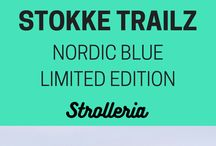 Stokke Trailz Nordic Blue Stroller