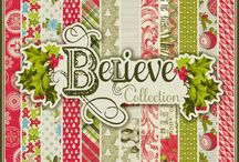 Believe Collection / by Authentique Paper