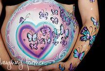 Pregnancy Belly Art