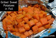 Food / Grilled sweet pineapple