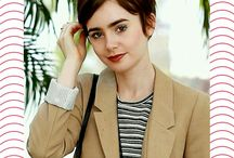 <3 InstaSize: Lily Collins <3