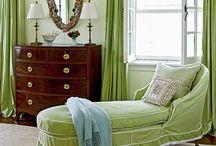 Designs in Green / by Patti Johnson Interiors