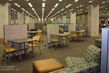 Learning Commons / Designs, Sketches, Spaces, and Ideas that illustrate the concept of a Learning Commons