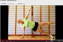 Workouts / My favorite workouts, from 20 minute Tabata, 30 minute HIIT, to 60 minute Power Yoga / by Debbie Woodruff