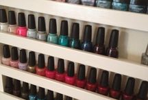 Nail polish storage and collections / Nail polish storage and collections, DIY racks. / by Manicura Creativa
