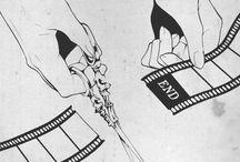 black&whit anime