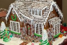 Gingerbread Houses / Great creative gingerbread houses