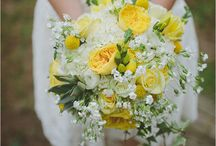 Sunshine Yellow & White (w Apricot?) Wedding / by Frances O'Donnell