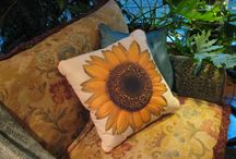 Home Decor - Pillows / Make your home your own by decorating with pillows - check out ours at Butterfly Creek Inn
