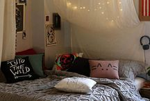 Adorable bedroom decor / prolly won't ever need any of this but it's fun to look at  / by Hannah Plunkett