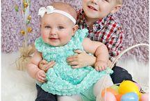 easter siblings photo