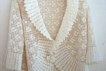 Crochet tops and dresses