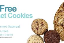 Alyssa's Healthy Cookies / Gourmet oatmeal cookie with dried fruits & almonds / by Alyssas Bakery
