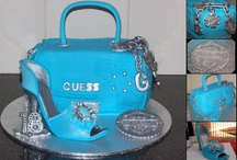 bag & shoes cake