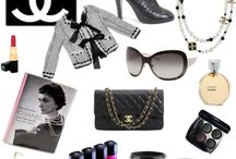 True Classic / Chanel styled ideas on a classy look. White, black and gold