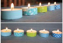 DIY - kaarten - washi tape e.d.