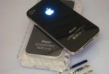 Make Your Apple Logo Glowing/Shining LED Backcover Iphone 4   / Make Your Apple Logo Glowing/Shining LED Backcover Iphone 4