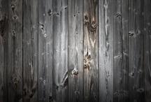 grå trä