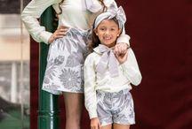 Colección Madre-Hijas JC / 8 Outfits Madre-Hijas diseñada en Colombia por Johana Cano