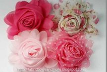 chiffon bloemen