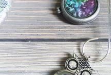 Fiber Fashion Accessories / Handmade jewelry, scarves, and any other fashion accessories that showcase indie dyed fibers