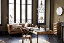Le retour des canapés en cuir ! / Longtemps laissé à l'abandon, à l'exception des fauteuils club, le canapé en cuir reprend sa place dans nos intérieurs ! Entre style industriel, retro, vintage, il trouve sa place dans de nombreuses ambiances !