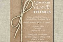 favorite things party / by Alyson Anketell